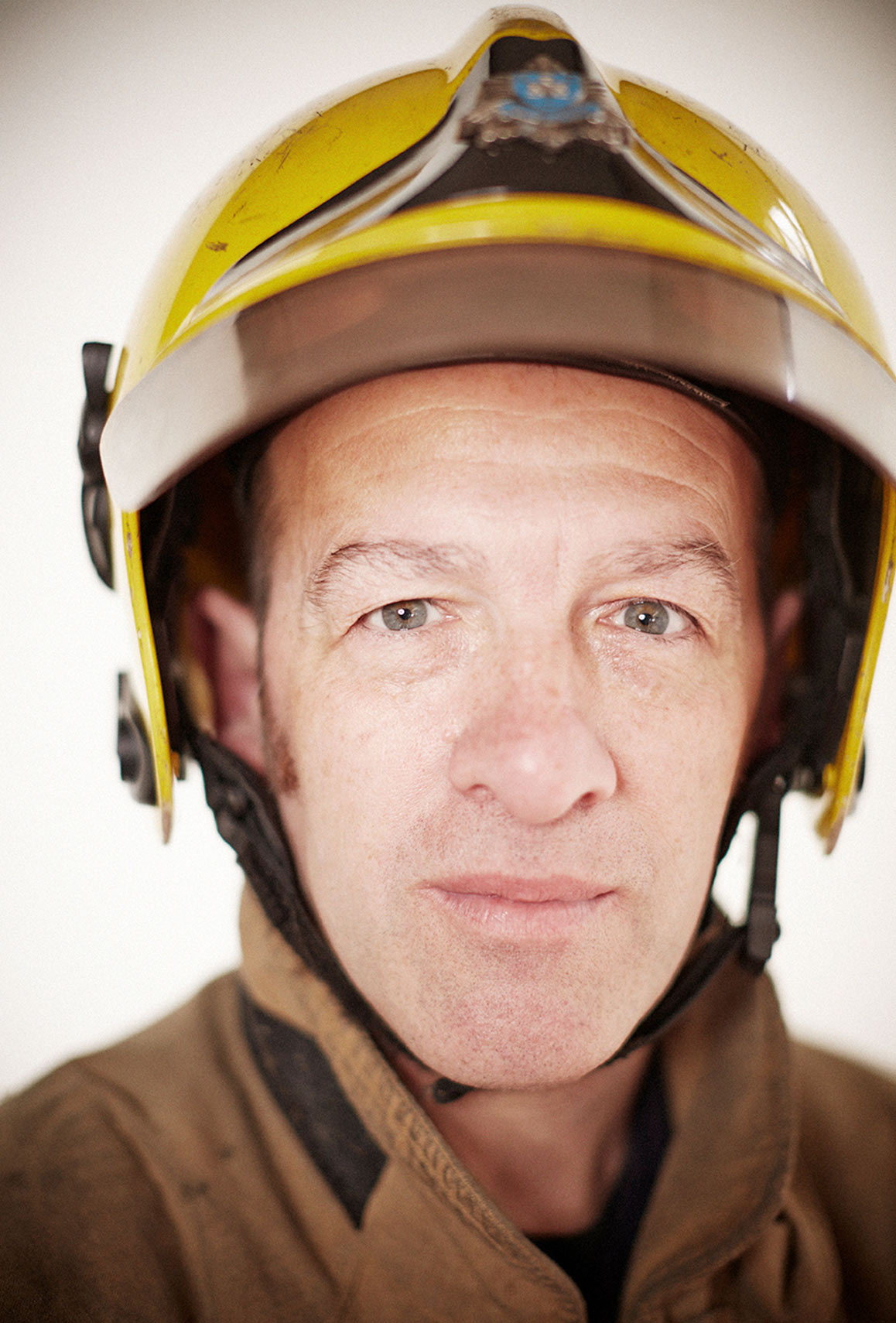 Fire brigade portrait